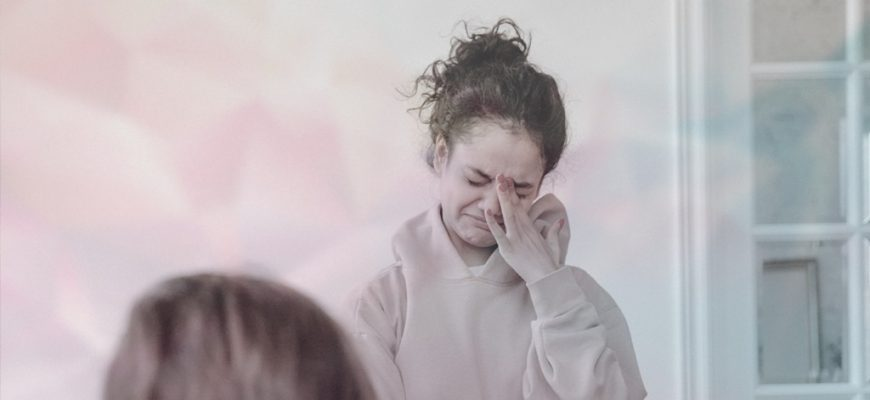 как быстро заплакать сильно
